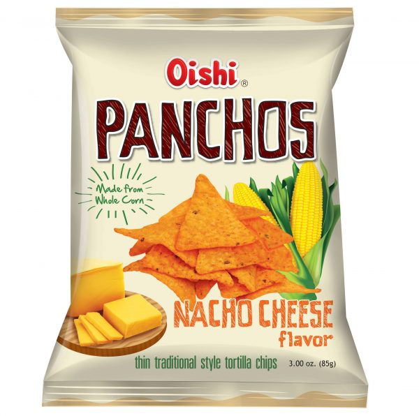 Oishi Panchos Nacho Cheese