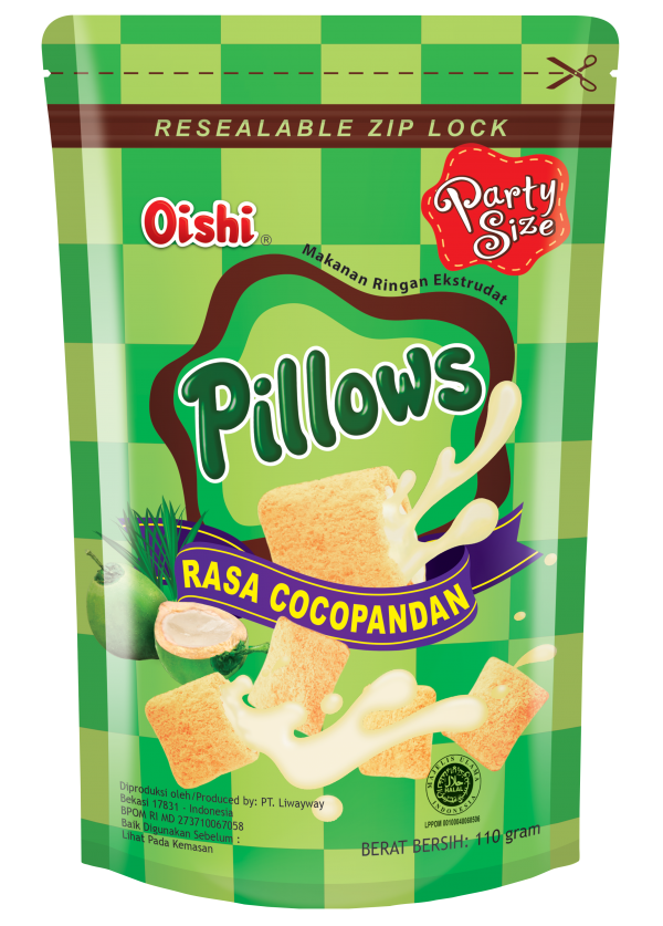 Swee's Oishi Pillows CocoPandan 110gm
