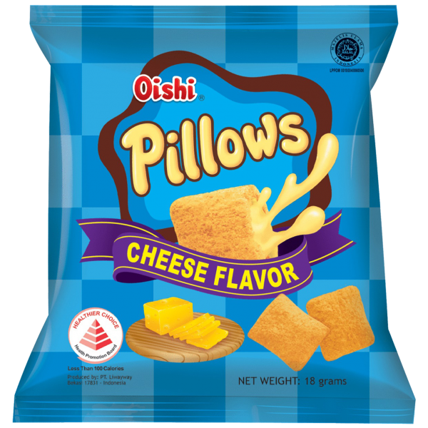 Swee's Healthier Choice Oishi Pillows Cheese 18g