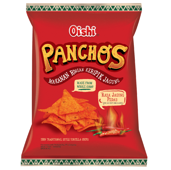 Swee's Oishi Hot & Spicy Panchos
